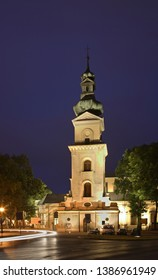 Belfry of the Cathedral in Zamosc. Poland