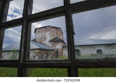 Belfry of the convent of the cross. Russia, Arkhangelsk region, Kiy Island