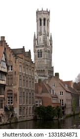 The Belfry Tower of Bruges, or Belfort, is medieval bell tower in the historical centre of Bruges, Belgium