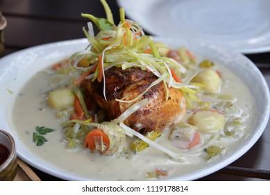 Belgian Chicken Waterzooi, Local European Cuisine