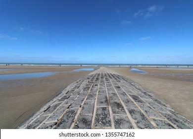 Belgian coast, North see