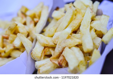 Belgian Fries background