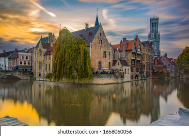 belgium brugge architecture and reflection photos