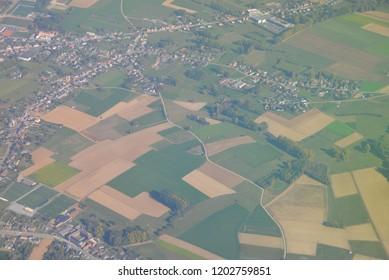 Belgium, Europe, Aerial Photography