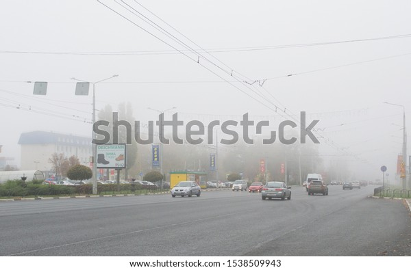 belgorod-russiaoctober-22th-2019-traffic