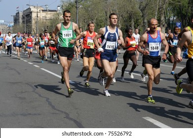 BELGRADE - APRIL 17: A 24th Belgrade Marathon April 17, 2011 in Belgrade, Serbia.
