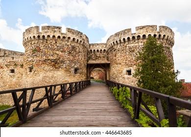 Belgrade fortress and Kalemegdan park in Belgrade, Serbia