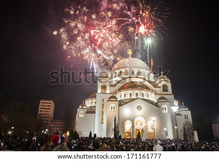 Image result for image serbian new years