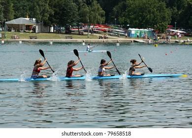 Canoe Sprint Images, Stock Photos & Vectors | Shutterstock