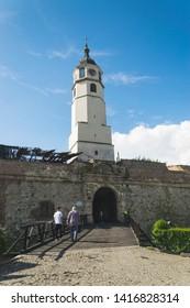 BELGRADE, SERBIA - 01, JUNE 2019 : Kalemegdan fortress in Belgrade