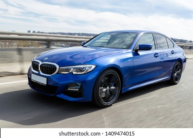 Belgrade, Serbia - 13 March 2019 - BMW M3, 330i - Image