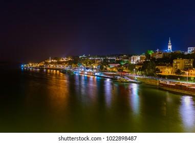 Belgrade Serbia - architecture travel background