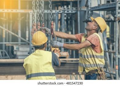 BELGRADE SERBIA AUGUST 16 2016 Construction Stock Photo