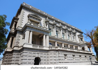 Belgrade, Serbia - famous Old Palace. Currently local government headquarters - City Assembly.