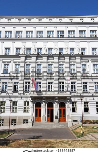 belgrade-serbia-governmental-building-ex