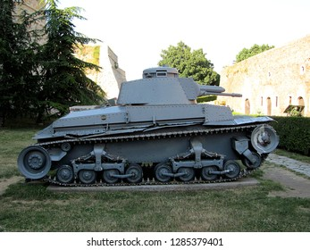 Belgrade, Serbia - June 25 2011: Military Museum at Belgrade Fortress and Kalemegdan