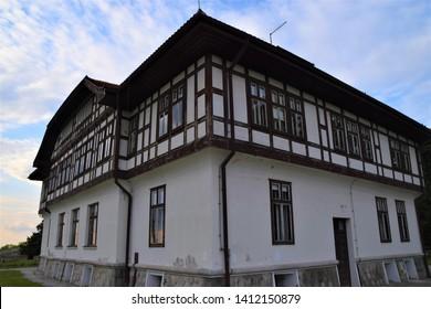 Belgrade, Belgrade / Serbia - May 26 2019: Cultural Monument Protection Institute Fortress Kalemegdan Park