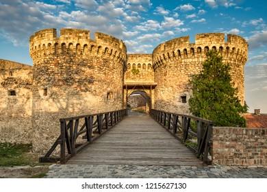 Belgrade / Serbia - October 6th 2018: Belgrade Fortress (Kalemegdan)