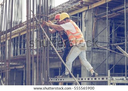 BELGRADE SERBIA SEPTEMBER 08 2016 Construction Stock Photo
