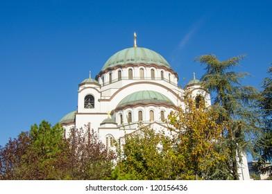 Belgrade, Serbia - Temple of Saint Sava