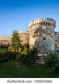 Belgrade's historic Kalemegdan Fortress, a park and Serbia's largest fortification
