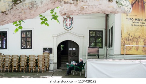 Belgrade,Serbia-July 12,2018.Image shows the residence of Prince's Milos former ruler of Serbia.