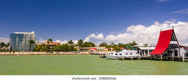 BELIZE CITY, BELIZE - AUGUST 14, 2008: Radisson Hotel on waterfront.