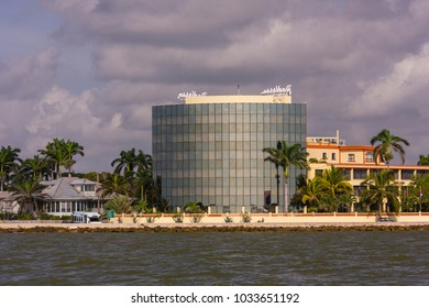 BELIZE CITY, BELIZE - AUGUST 7, 2008: Radisson Hotel on waterfront.