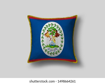 Belize Flag Pillow & Cusion Cover. Belize cushion cover. Flag Pillow Cover with Belize Flag