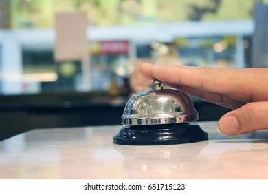 Bell call vintage service with hand