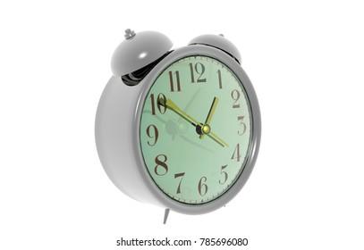 Bell Clock 3D rendering
