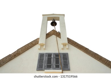 Bell on roof of house