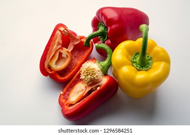 bell pepper known as sweet pepper, pepper or capsicum  is a cultivar group of the species capsicum annuum, cultivars of the plant produce fruits in different colours