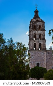 Bell Tower, Alamos Church - Alamos, Mexico