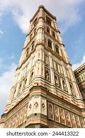 Bell Tower of the Basilica di Santa Maria del Fiore. Tuscany, Italy.