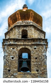 Bell tower of the church of San Nicola di Mira in Rodi Garganico (Puglia-Italy)