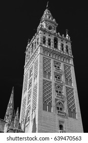 Bell Tower of La Giralda cathedral. Seville, Spain