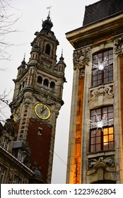 The bell tower of Lille