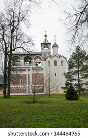 Bell tower in Monastery of Saint Euthymius in Suzdal, Russia