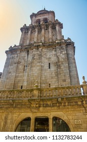 Bell tower of Ourense cathedral