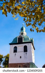 The Bell tower of Porvoo Cathedral, Porvoo, Finland