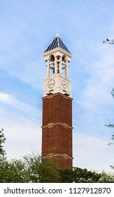 bell tower at purdue university in west lafayette indiana