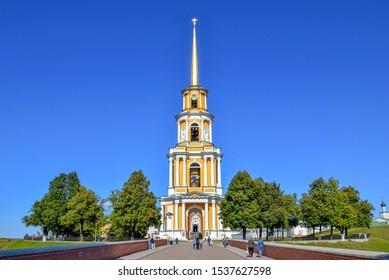 Bell tower of the Ryazan Kremlin