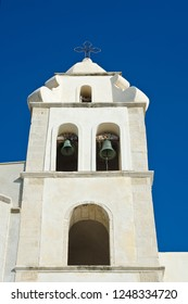 Bell tower of San Francesco Church in Vieste, Italy