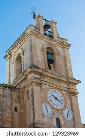 Bell tower of St. John's Co-Cathedral, Valletta, Malta