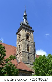 Bell Towers and Buildings architecture in Stuttgart, Germany