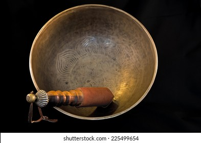 Bell used during buddhist prayers and also in alternative medicine