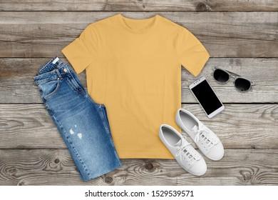 Bella Canvas 3001 tshirt mockup with shorts Bella Canvas mock up t-shirt mockups bella canvas 3001 white mockup