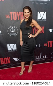 """Bella Favela attends  Skyline Entertainment's  """"The ToyBox"""" Los Angeles  Premiere at Laemmle's NoHo 7, North Hollywood, California on September 14th, 2018"""