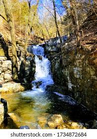 Bella Vista beautiful waterfall. Northwest Arkansas area.